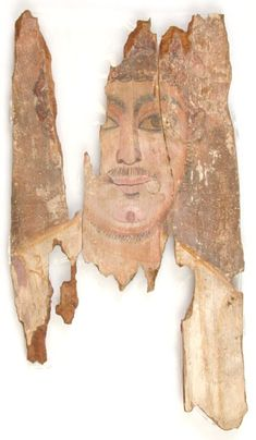 Mummy Portrait UC14768 -The Petrie Museum of Egyptian Archaeology, London.