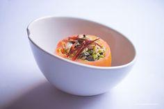Tomates rellenos de ensalada de pato #Gourmetbilbao