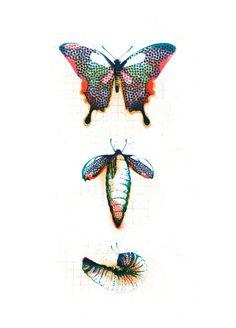 Juan Bernabeu Illustration for the 5Rythms ongoing workshop promotion Transiciones.