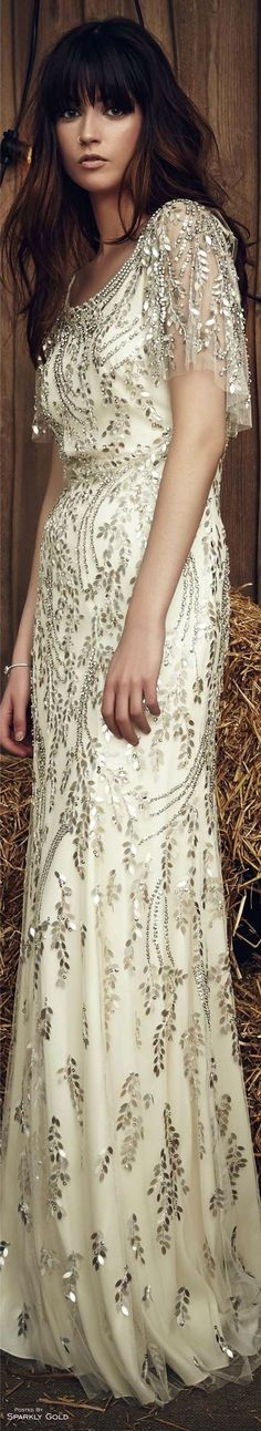 @MaySociety Jenny Packham Spring 2017 Bridal