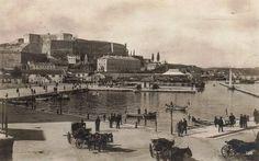 Το λιμάνι της Κέρκυρας το 1928