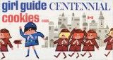 Girl Guides of Canada Cookie Box 1967