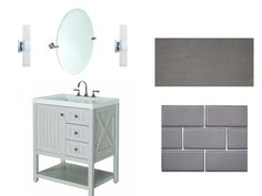 Bathroom Ideas! Love This Vanity From Martha Stewart @ Home Depot