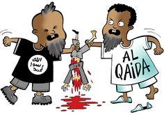 Al Qaida en IS zijn concurrenten
