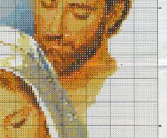 ampliar Free Cross Stitch Charts, Just Cross Stitch, Cross Stitch Needles, Counted Cross Stitch Patterns, Cross Stitch Embroidery, Religious Cross, Crochet Cross, Jesus On The Cross, Christmas Cross