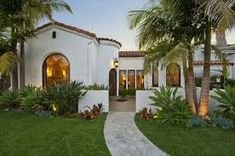 Image result for spanish bungalow blue awnings
