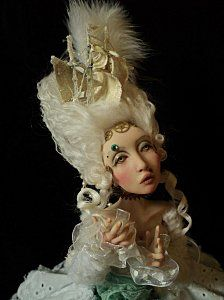 Doll by CDHM Artisan Nefer Kane of CircusKane Art Dolls