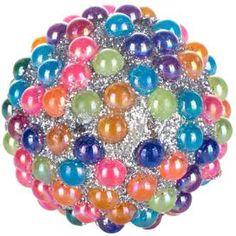 Multi-Color Pearl Beaded Knob
