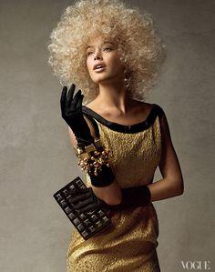 From the Archives: Victoria's Secret Models in Vogue - Vogue September 2010. Doutzen Kroes appearing in Vogue, December 2007
