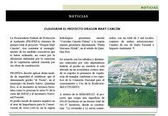 #Noticia Clausuran el proyecto #DragonMart #DesarrolloSustentable #Revista400 @400revista