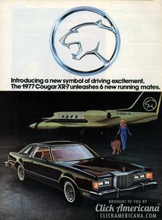 Ford introduces the Mercury Cougar XR-7 (1976)