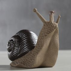 Hot Sale Creative Violet Sand Snail Tea Pet Snail Home Furnishing Articles Tea Accessories Rural Arts and Crafts(China (Mainland)) Diy Clay, Clay Crafts, Arts And Crafts, Pottery Animals, Ceramic Animals, Pet Snails, Octopus Jewelry, Mixed Media Sculpture, Ceramics Projects