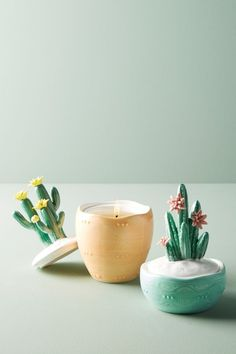 Capri Blue Yucca Candle | Anthropologie