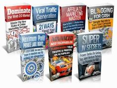 """7 FREE Internet Marketing eBook Guide!-- Start Making A Passive Income Online Today! PLR MRR Infoproducts to  """"Kick Start Your Online Business with free Internet Marketing Ebooks"""