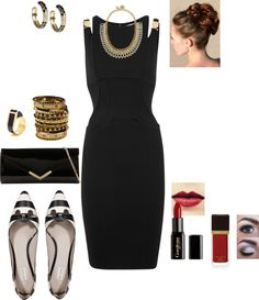 """""""Black & White Elegance"""" by gracehands on Polyvore"""
