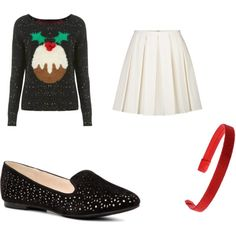 """Rachel Berry at Christmas"" by jordanniesel on Polyvore"