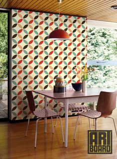 Wallpaper For Kitchen Mixers 229 Best Retro Images 1970s Vintage Items Similar To Circles Pattern Self Adhesive Diy Home Decor Peel N Stick 20 9 X8 G046 On Etsy
