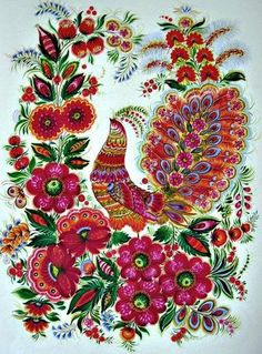 Contents of. Russian Folk Art, Ukrainian Art, Cultural Crafts, Watercolor Paintings Abstract, Indian Paintings, Art Paintings, Hindu Art, Native Art, Tribal Art