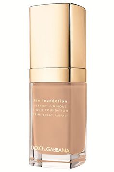 Glowy Skin at Dolce & Gabbana Dolce & Gabbana Perfect Luminous Liquid Foundation ($59).