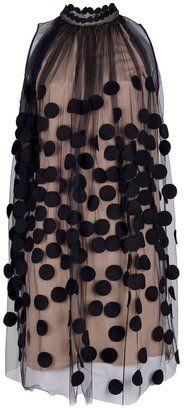 ShopStyle: Stella Mccartney dotted gauze dress