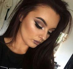 "thingsluxuryglam: ""This makeup"" @c0smeticated makeup blog"