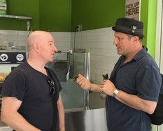 """The tense moment when """"Flashpoint"""" and """"Just Shoot Me!"""" actor Enrico Colantoni interrogated me!  On Friday after Charlène left I went to @freshii_university again. The day before @ziddi had recognized me as a celebrity. This day I heard her squealing at another customer. I went over and asked who the guy was. She whispered """"Flashpoint"""". I've never watched the show but I've seen commercials. So I sort of recognized him. As you know I'm not good at going up to celebs. So I took this secret…"""