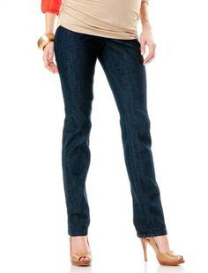 Motherhood Maternity: Secret Fit Belly(tm) Super Stretch Slim Leg Maternity Jeans $39.98