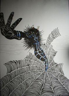 Homestuck - Vriska - Ancestor - mindfang by Scream-stay-night