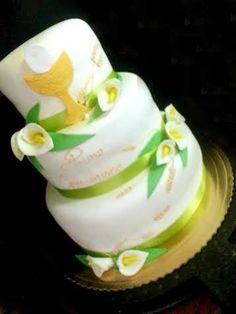 #comunione torta della pasticceria La Mimosa di http://www.simocakedesigner.it