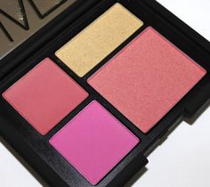NARS Foreplay Cheek Palette - Click through for swatches and review!!!