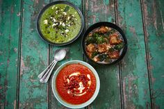 Soup ideas from Jamie Oliver's site