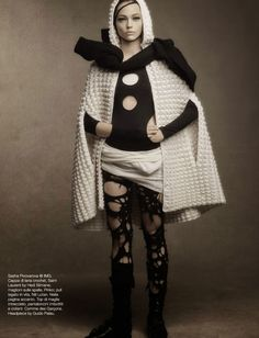 "Vogue Italia October 2014 | ""Shape Lift"" por Steven Meisel [Editorial]"