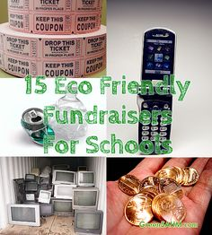 15 eco friendly fundraisers for schools Green Stay at Home Mom : School fundraisers aren't always particularly welcome when you're trying to be eco friendly. Selling a bunch of wrapping paper, cookie d[. Sustainable Schools, Sustainable Gifts, Eco Friendly Cleaning Products, Green School, School Clubs, School Fundraisers, Home Schooling, Geek Gifts, Gifts For Boys