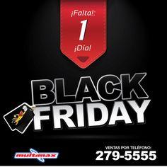 Estamos a un solo día de esta Grandiosa Venta por Black Friday; Tienda de Mall Multiplaza Pacific estará abriendo sus puertas desde las 6:00 AM.