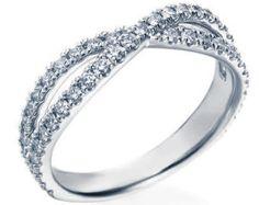 Bague de mariage diamant torsadée bande de mariage Style Vintage anniversaire bague or 14k