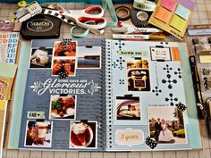 Smash Book. Love the idea but know I have little follow-through. (seen on Bijou Lovely)