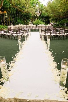 Wedding ● Ceremony Decorations ● Circular Arrangement