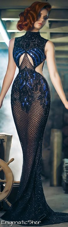 Charbel Zoe Fall-Winter 2014-2015 Couture