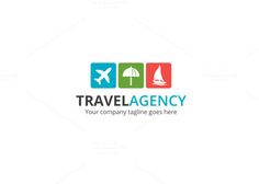 Travel Agency V2 Logo by XpertgraphicD on creativework247