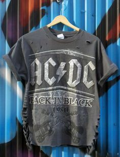 ACDC back in black t-shirt