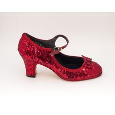 Tiny Sequin Starlight 2.5 Heel Red Manhattan Character Shoes Heels for... (€120) ❤ liked on Polyvore featuring shoes, costume shoes, grey, women's shoes, gray shoes, red shoes, grey shoes, red sequin shoes and sequined shoes