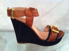 'Ida' wedges by Francesca.