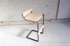 HomeMade Modern Book DIY Pipe Barstool