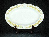Nikko Jonquil Daffodil Oval Serving Platters Vintage Tableware, Nikko, Serving Platters, Daffodils, Dinnerware, Decorative Plates, Dinner Ware, Vintage Dinnerware, Serving Plates