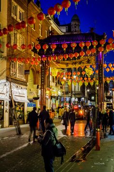 Chinese New Year - China Town, London, England