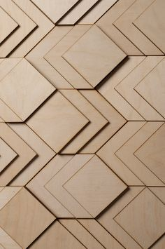 Atelier Anthony Roussel. 3D layered wooden surface, collection 01. Birch wood
