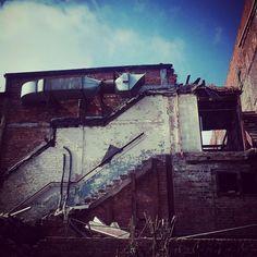 The M club crewe demolition in progress