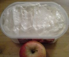 Recette sorbet à la pomme par missloloth - recette de la catégorie Desserts & Confiseries