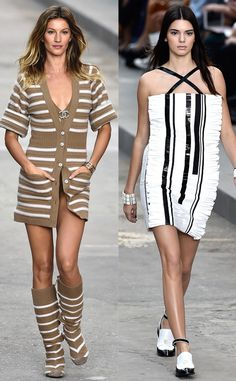 Kendall Jenner, Gisele Bundchen, Chanel, Paris Fashion Week