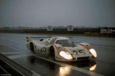 Vic Elford / Kurt Ahrens Jr., #25 Porsche 917L (Porsche KG Salzburg), 24 Hours Le Mans 1970 (DNF)